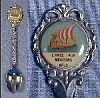 Vintage Collectible Souvenir Spoon L'ANSE AUX MEADOWS, NEWFOUNDLAND, CANADA