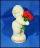 "Vintage Department 56 Snowbabies ""You're A Sweetheart"" Collectible Porcelain Figurine Discontinued & BoxedA2823"
