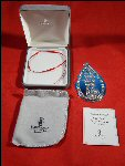 Collectible Sterling Silver WATERFORD Joys of Christmas Ornament 2002 Collectible