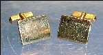 Vintage SWANK 12K GOLD FILLED Cuff Links Pair