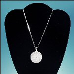 1880 S Morgan Silver Dollar Necklace on a Sterling Silver .925 Necklace Chain - ITALY (1 oz. / 28 grams)