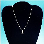 "Vintage Gold-Tone Sarah Coventry ""S"" Chain Necklace with Beta Sigma Phi Charm"